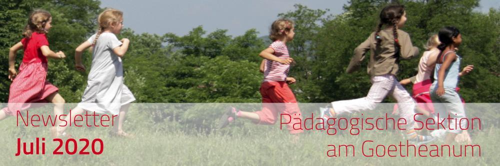 Newsletter Pädagogische Sektion